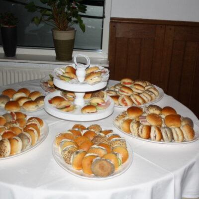 Broodjes en snack buffet